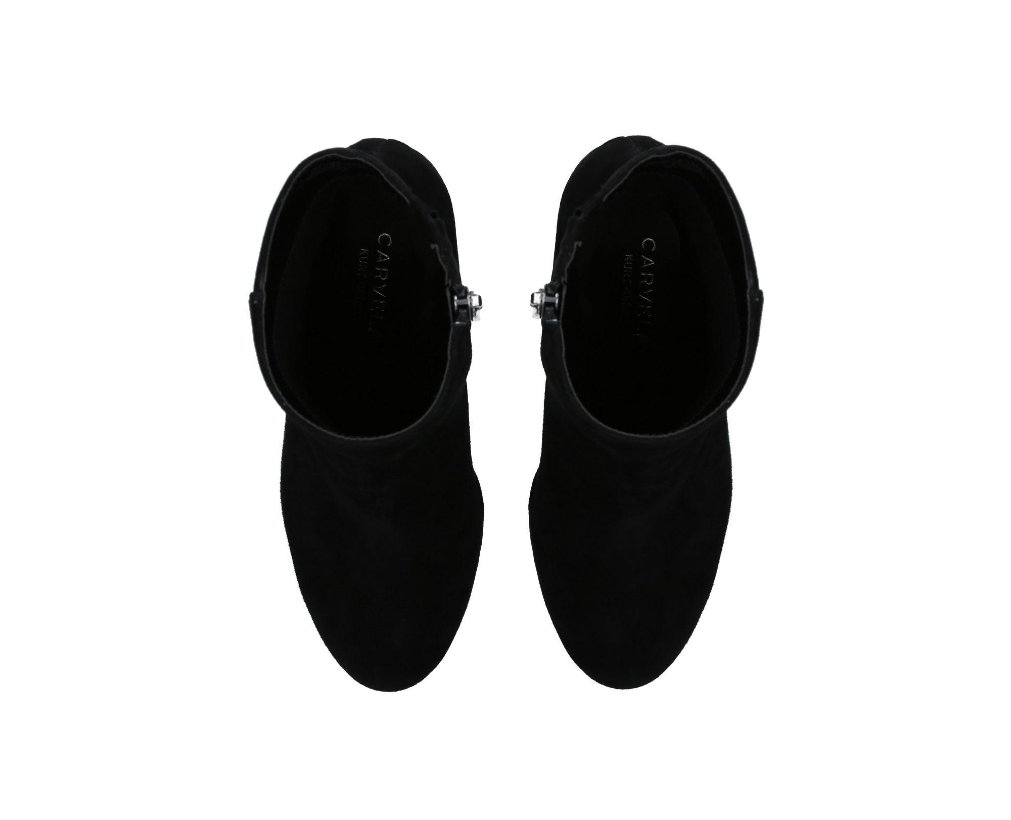 1c349cdfa Carvela Kurt Geiger - Black Smile High Heel Ankle Boots - Lyst. View  fullscreen