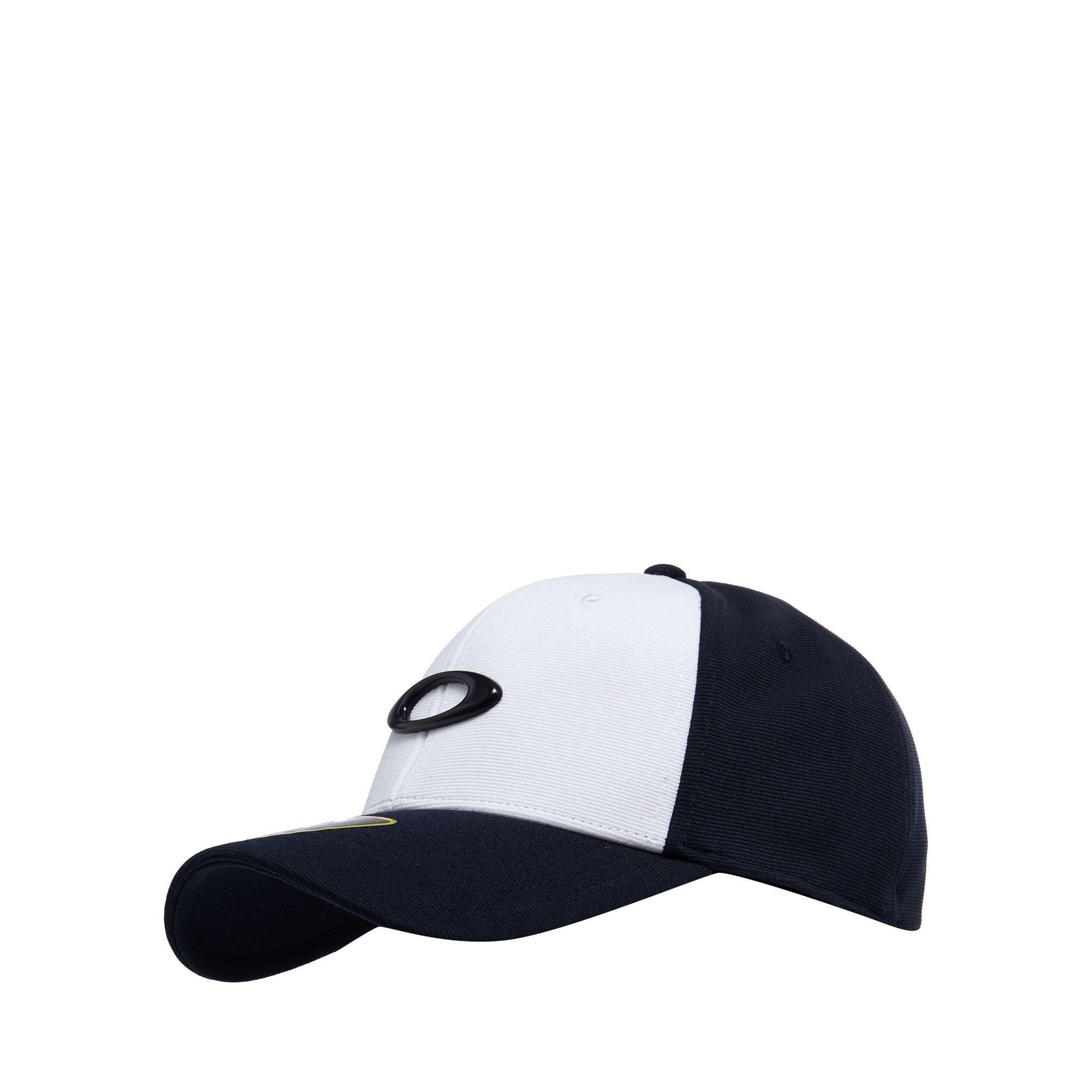 Oakley Navy Wool Blend Logo Baseball Hat in Blue for Men - Lyst 3ef5c9151a09