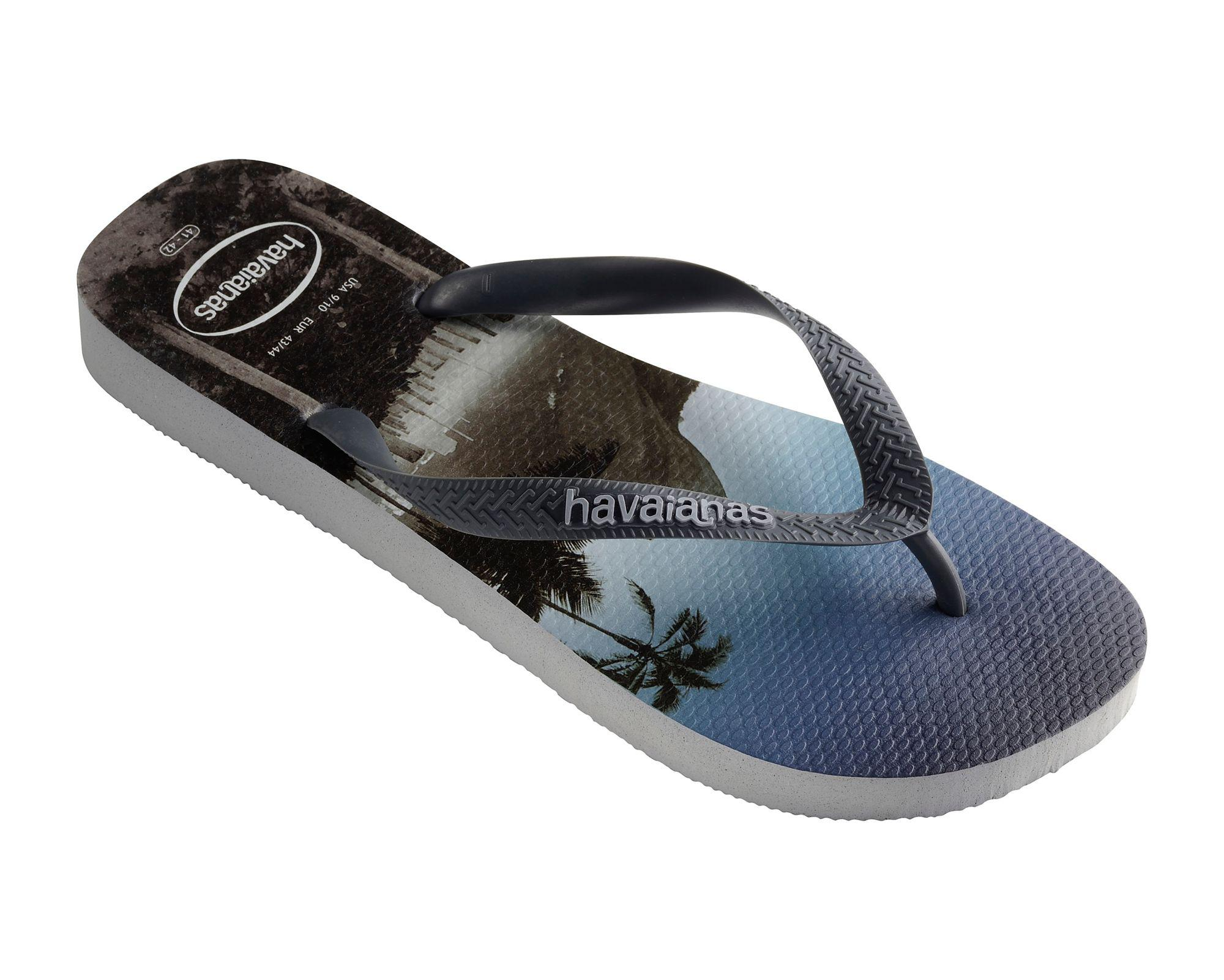 583b4ea7b4b Havaianas Grey Hype Flip Flops in Gray for Men - Lyst