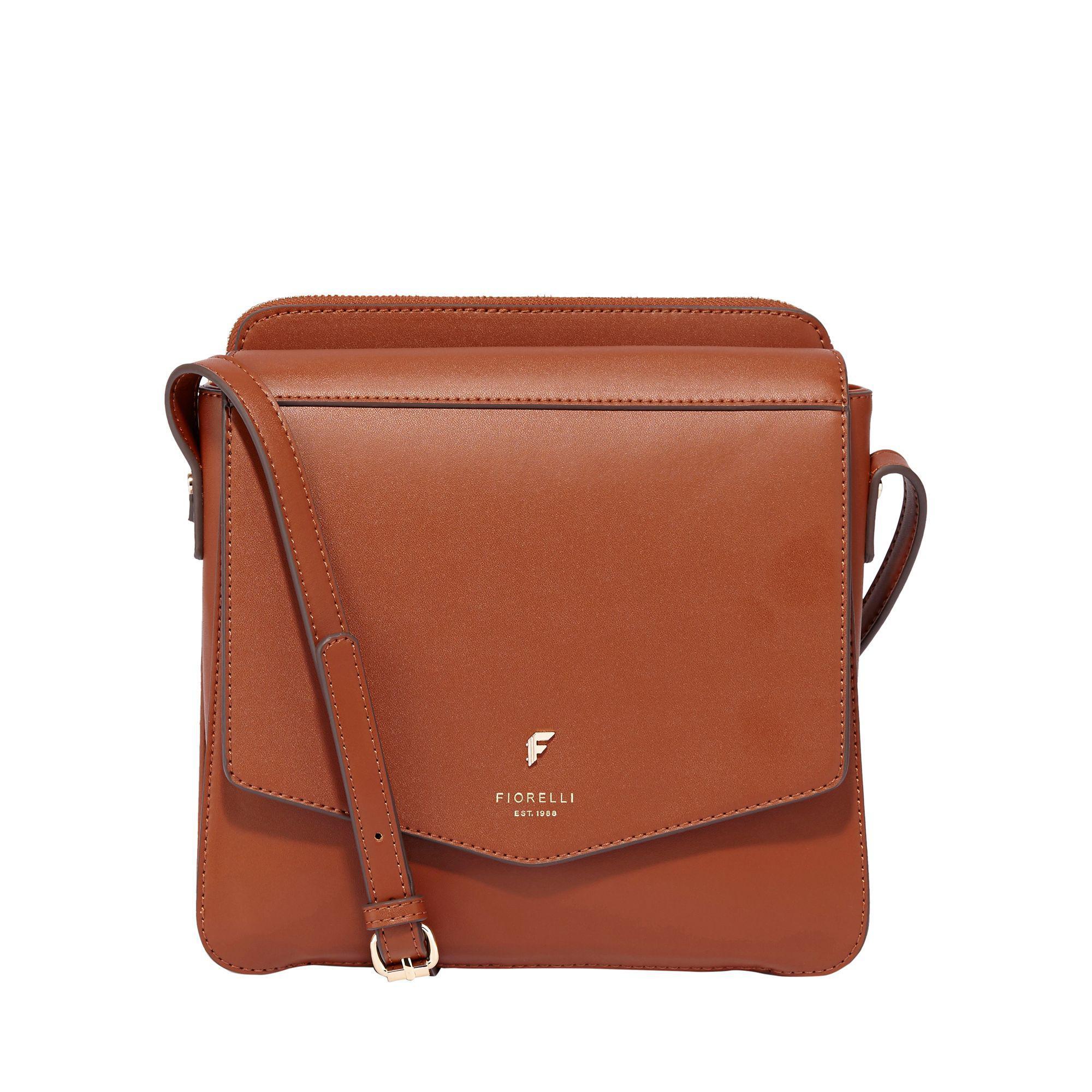 Fiorelli Brown Tan Marta Crossbody Bag Lyst View Fullscreen