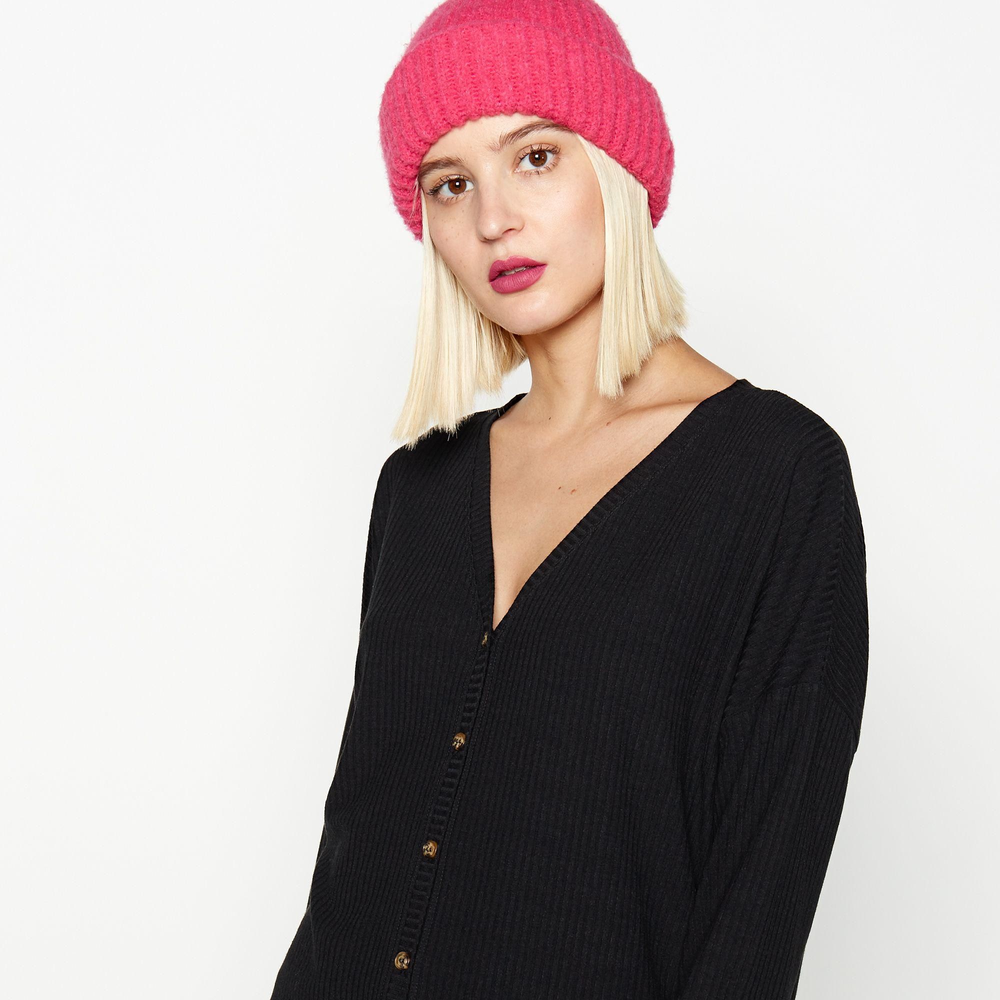8af47a798 Red Herring Black Button Through Top in Black - Save 56% - Lyst