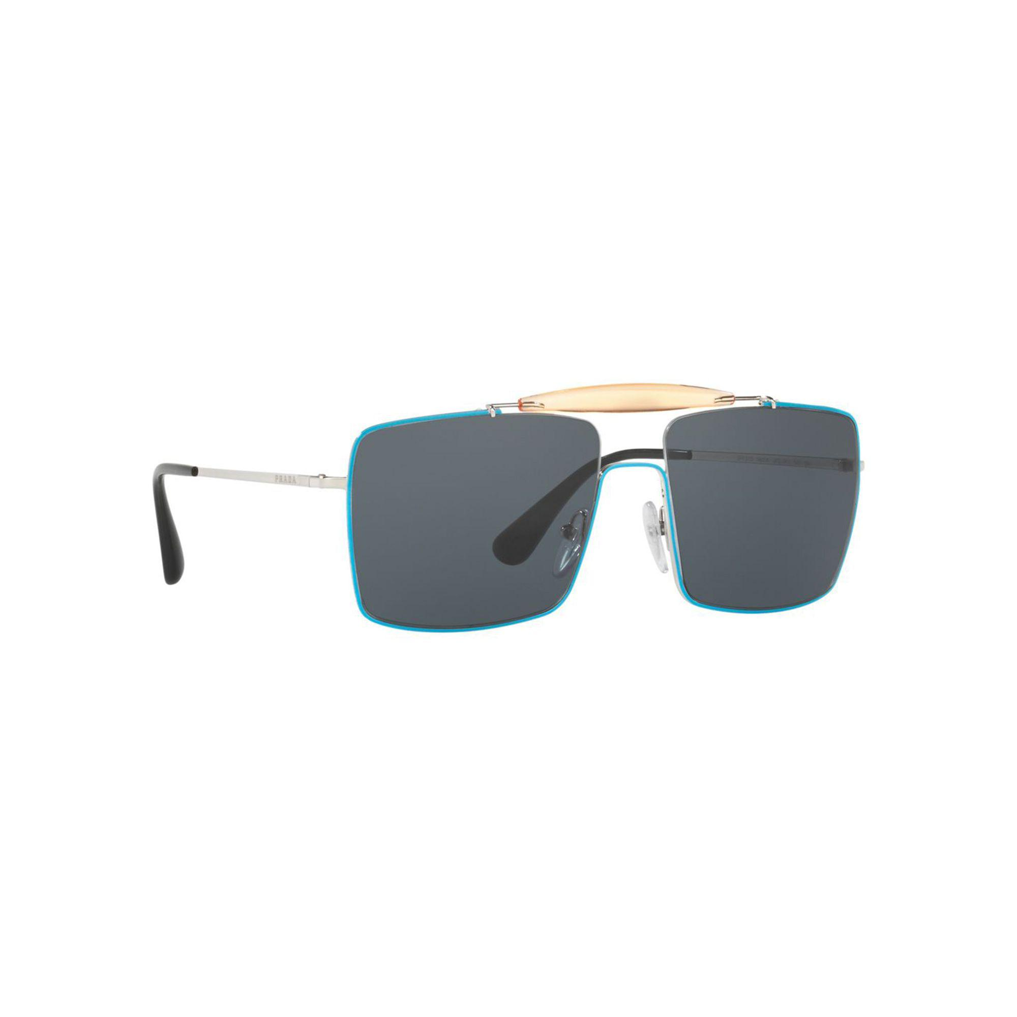 8a345b4baf1 Blue In Square Silver Sunglasses Lyst Prada Pr57ss Men For YqxqP4