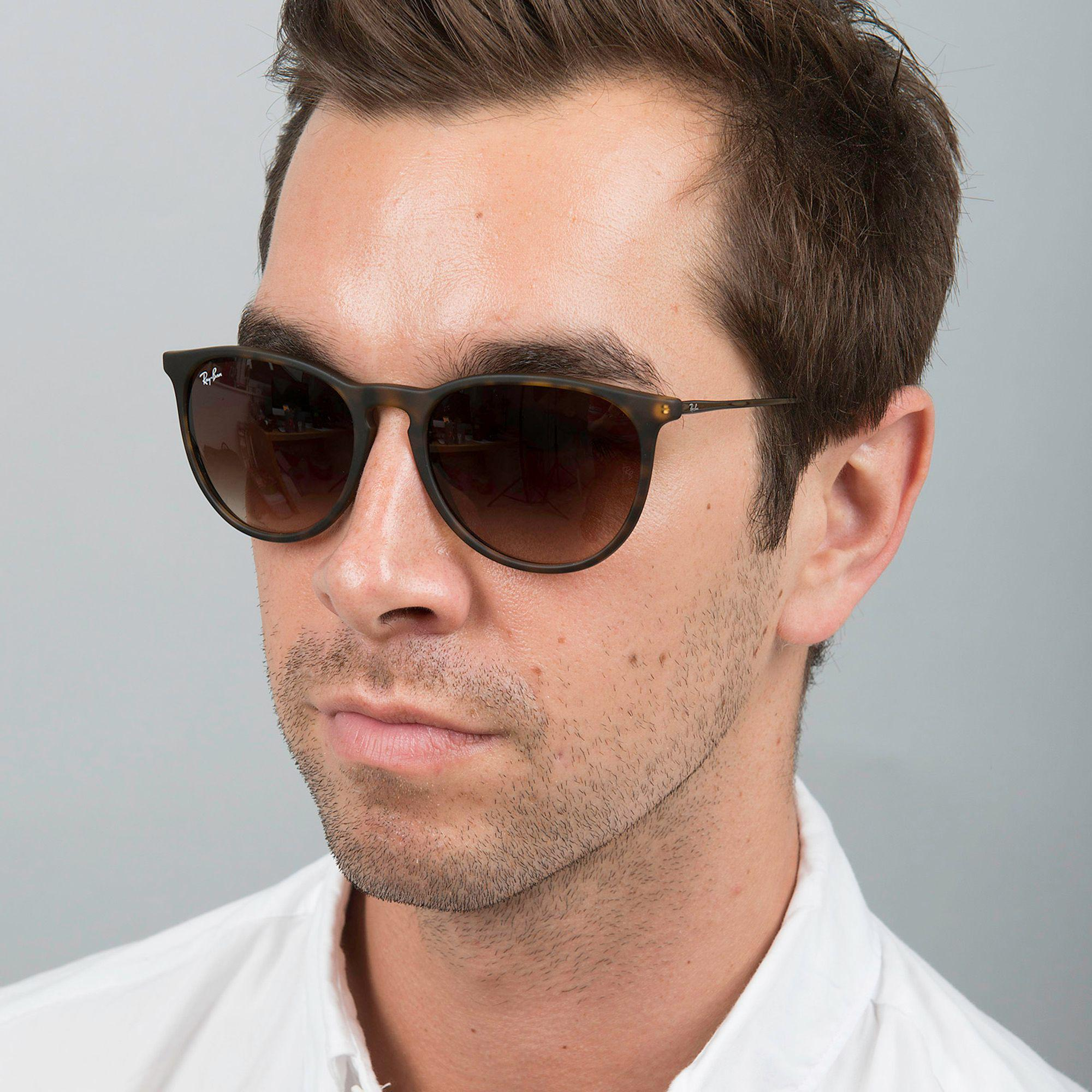 c77fb51e3681 Ray-Ban - Brown  erika  Rb4171 Round Sunglasses for Men - Lyst. View  fullscreen