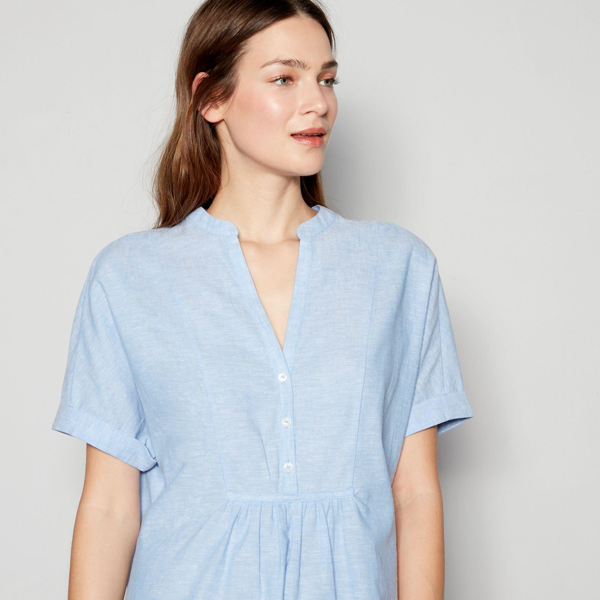 0ca62b2d4cb3d6 J By Jasper Conran Blue  monaco  Sleep Shirt in Blue - Lyst