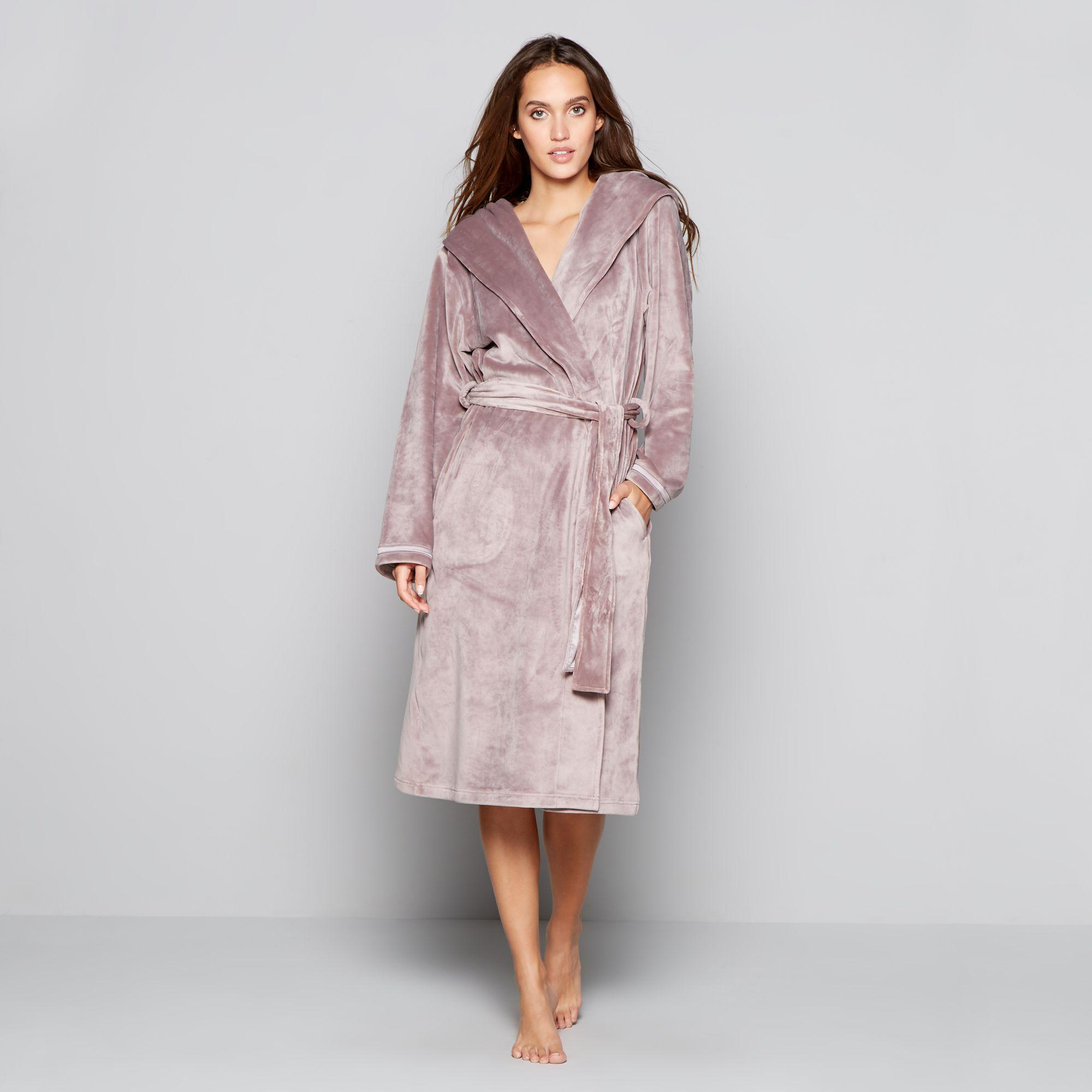 Ted Baker. Women s Beige Hooded Dressing Gown b62cb4370