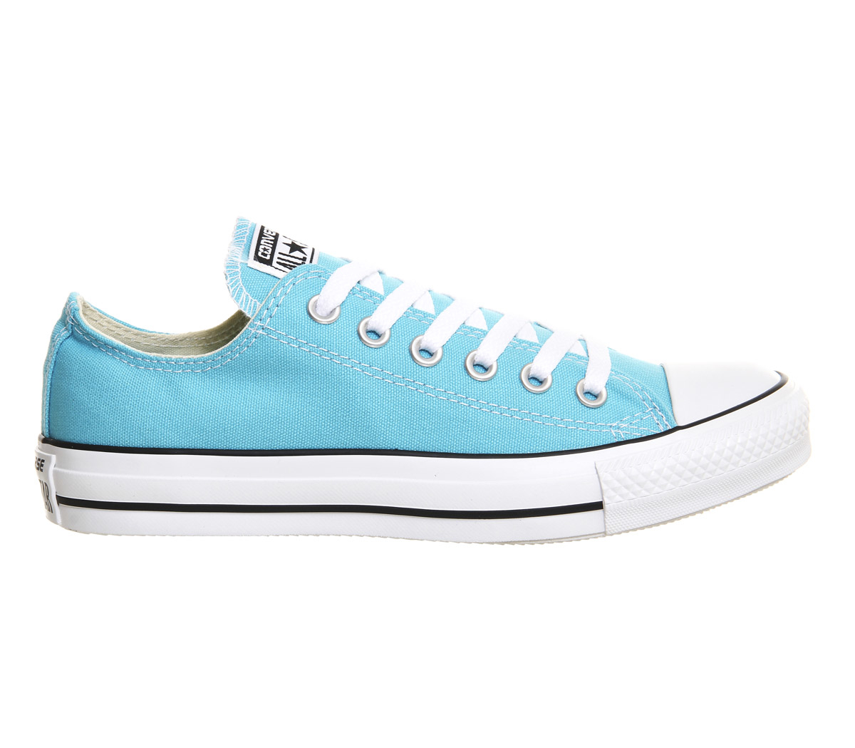 converse all star low in blue lyst