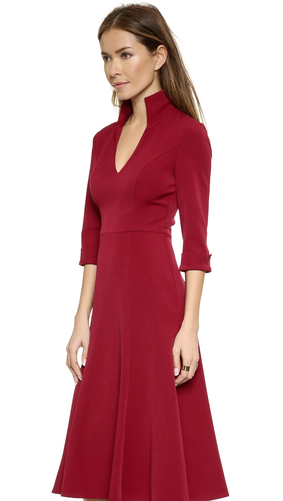 b66d36518a2fe Black Halo Kensington Dress - Red in Red - Lyst