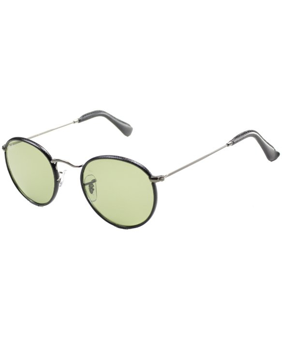 24ab9e84a32 ... norway lyst ray ban ray ban round craft rb3475q 029 14 leather metal  1d598 f7ec2