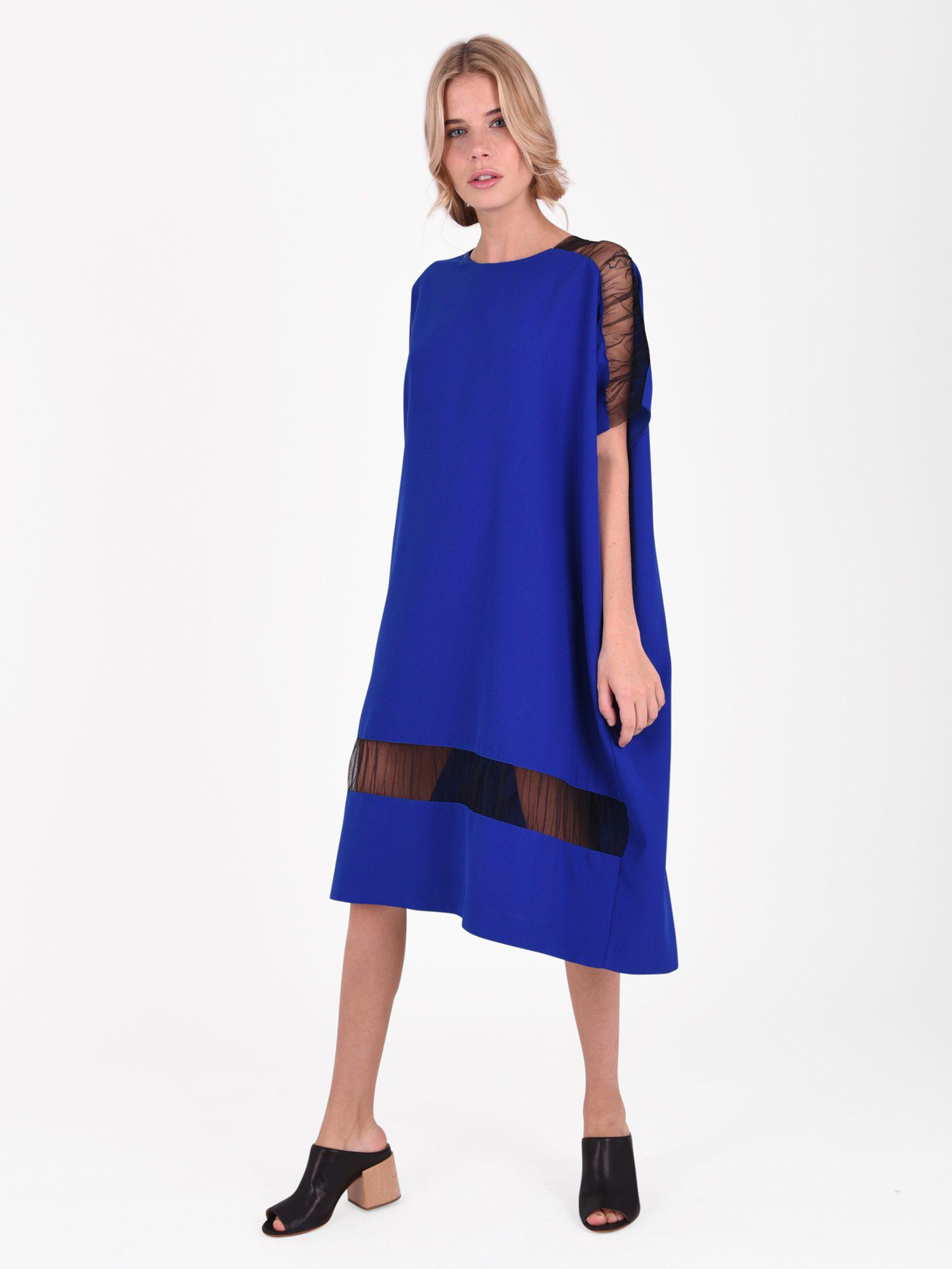 Outlet Online Shop Fast Delivery For Sale Dress with tulle inserts Maison Martin Margiela Cheap Sale Countdown Package Clearance For Sale Browse For Sale kdKt3RzdDp