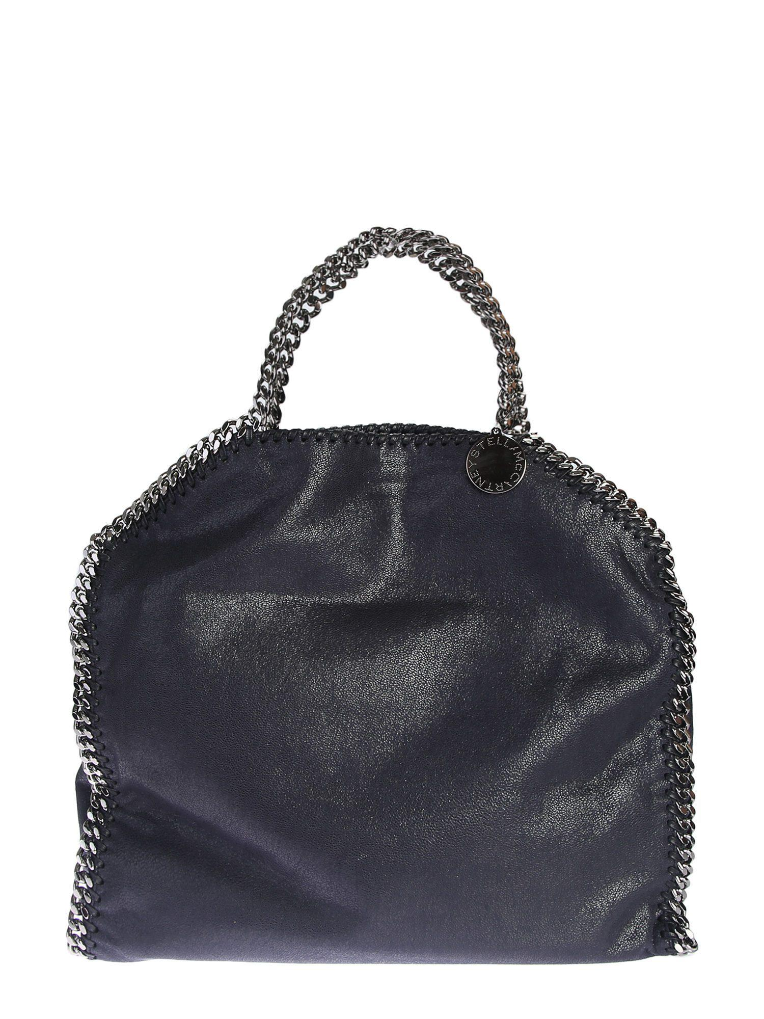 546173794b07 Lyst - Stella Mccartney Faux Leather Falabella Fold Over Tote