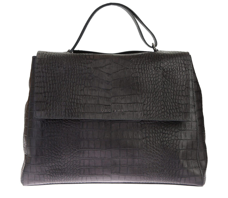 Sveva Wave mini leather bag Orciani QVDF4fqh