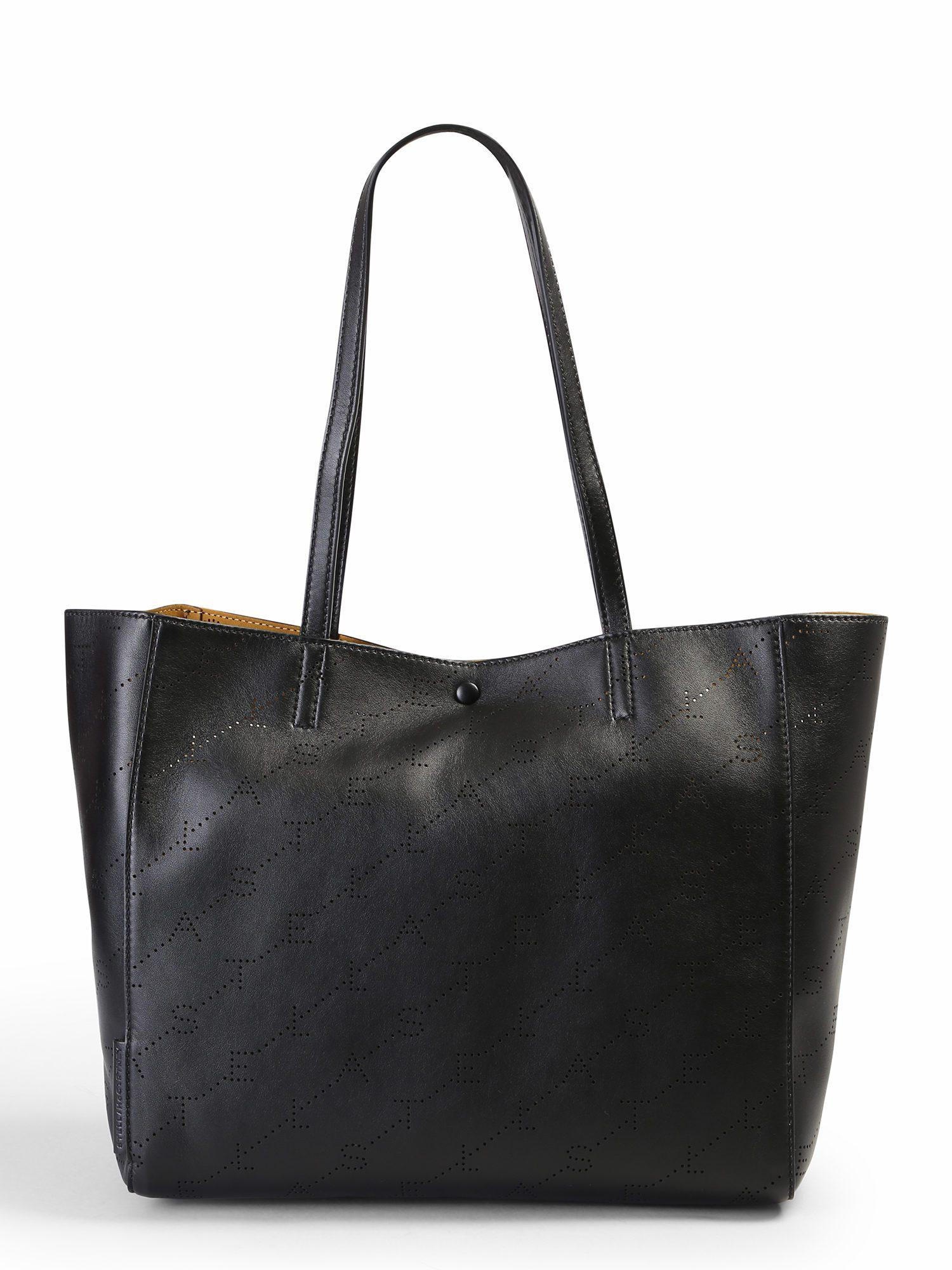 ca7e74610f42 Stella Mccartney Monogram Small Tote Bag in Black - Lyst