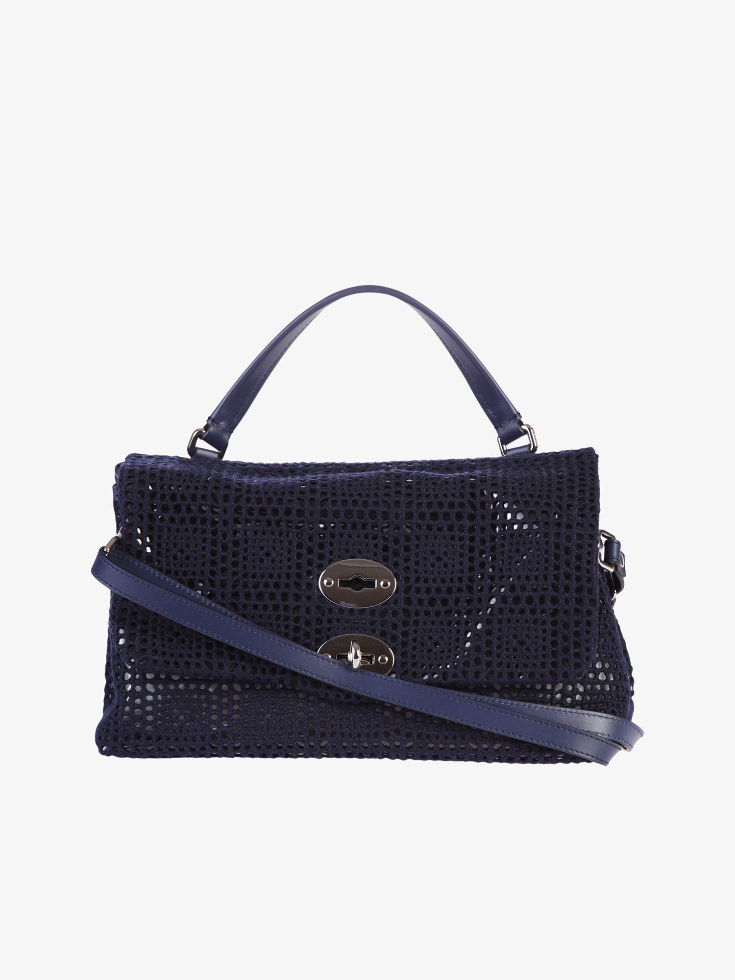 Zanellato Postina Arche medium black bag XmGPE