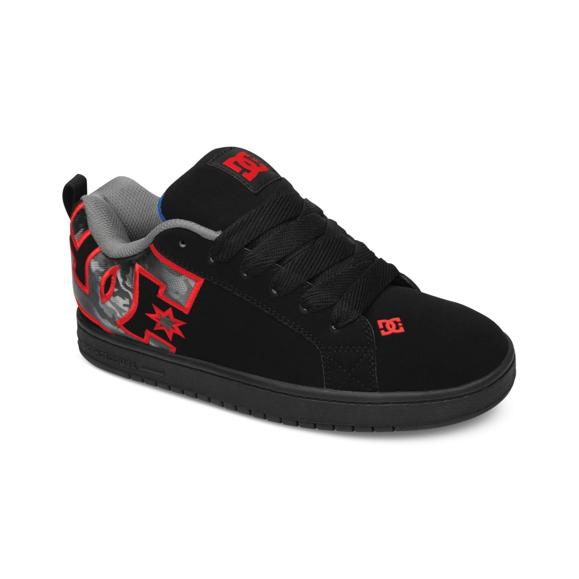 Dc Shoes Court Graffik Se Shoes Mens Black