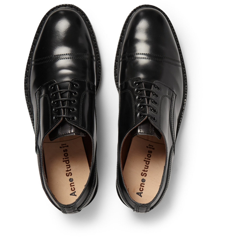 Get New Clearance Cheapest Price Acne Leather Derbies Free Shipping Cheap Online n6OyAxiE2