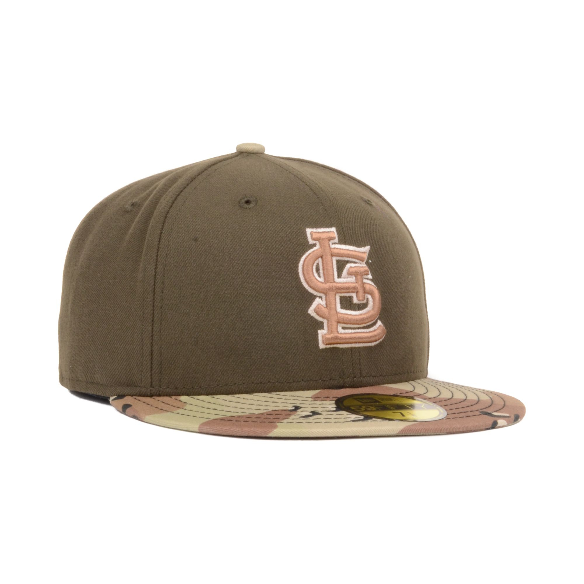 low priced f0e09 21968 ... italy lyst ktz st louis cardinals mlb 6day 2 tone 59fifty cap in brown  12c6b 1be78