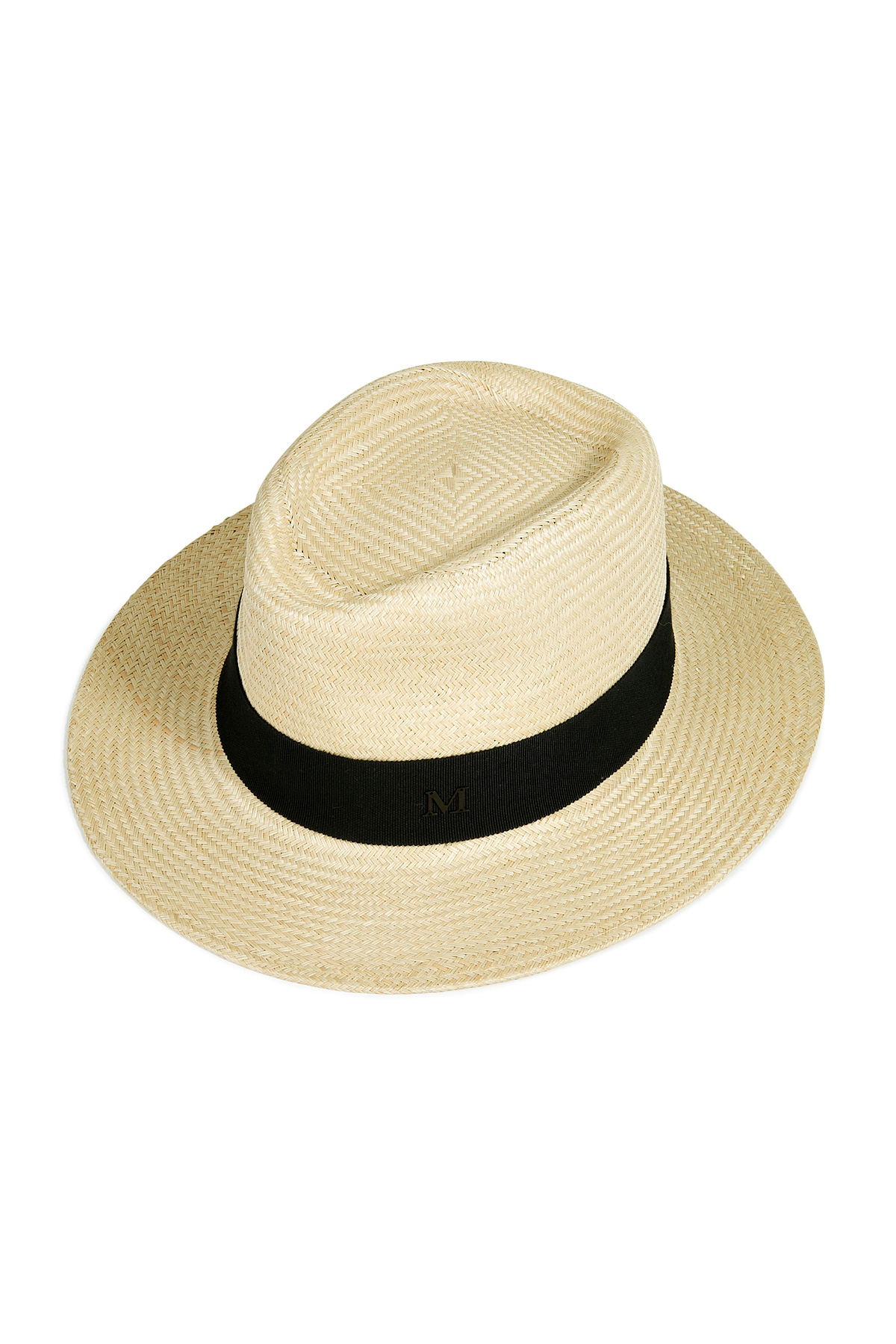 70bd9d32ad46f Maison Michel Andre Large Panama Hat in Natural - Lyst