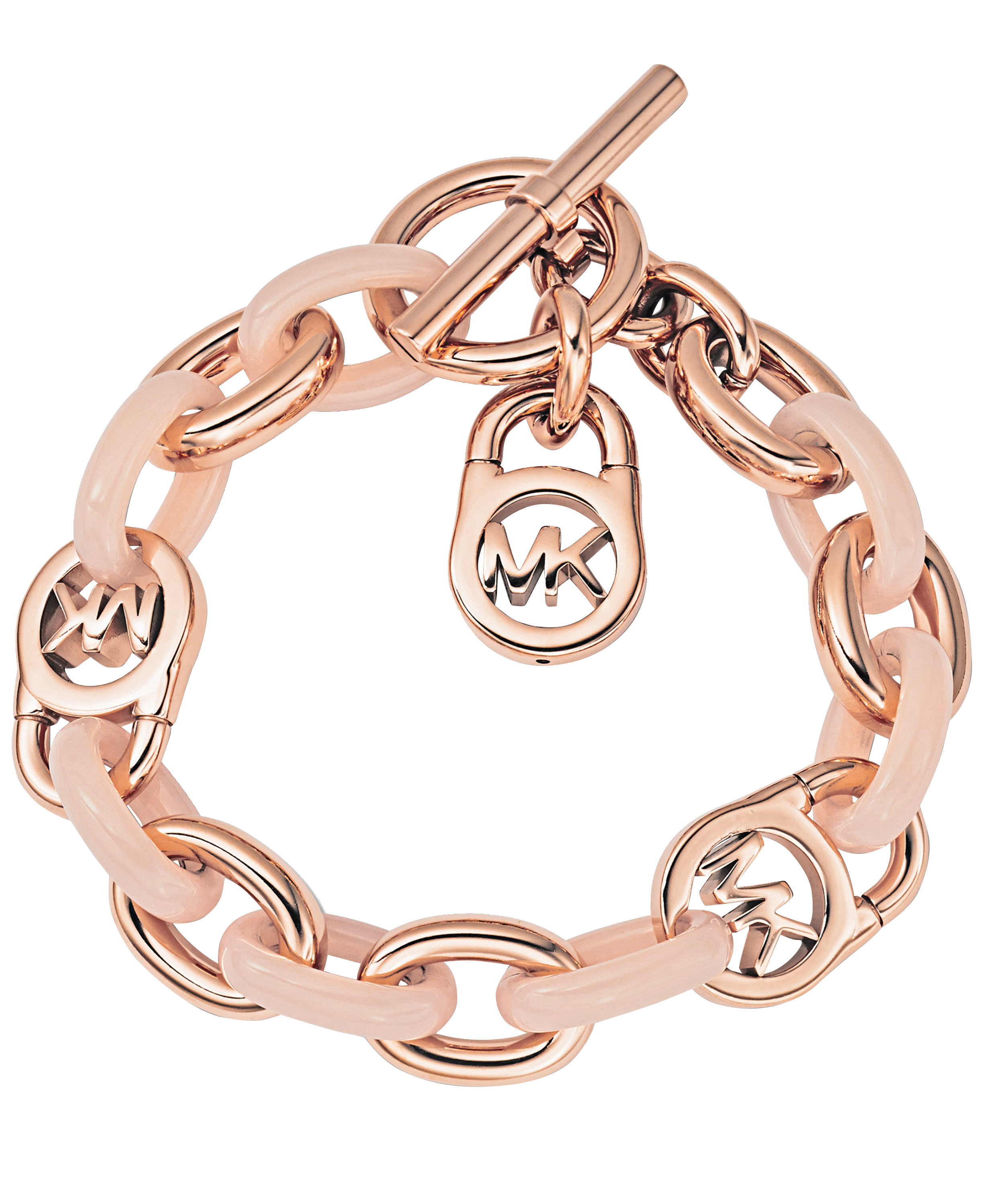 Lyst Michael Michael Kors Armband Rose Gold Blush in Metallic