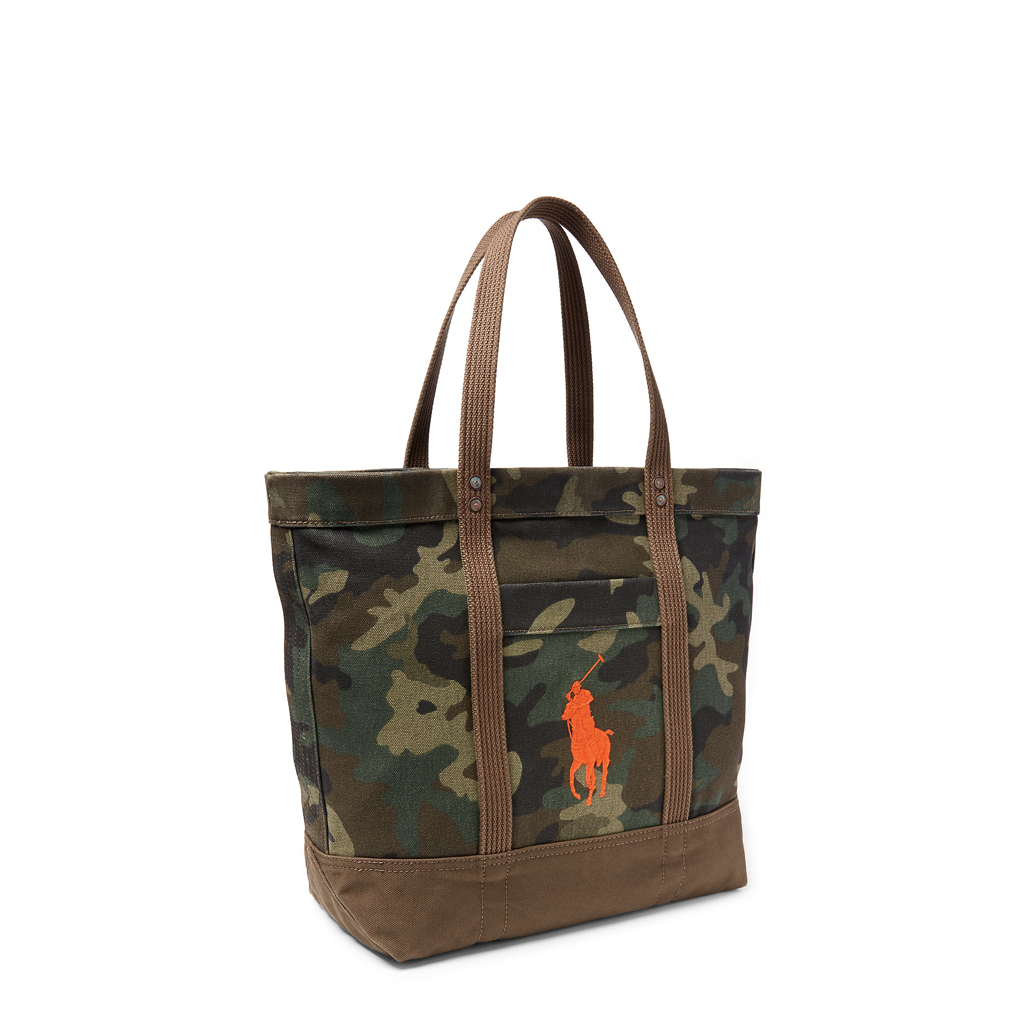 30d58a2af1 Lyst - Polo Ralph Lauren Big Pony Camouflage Tote in Green