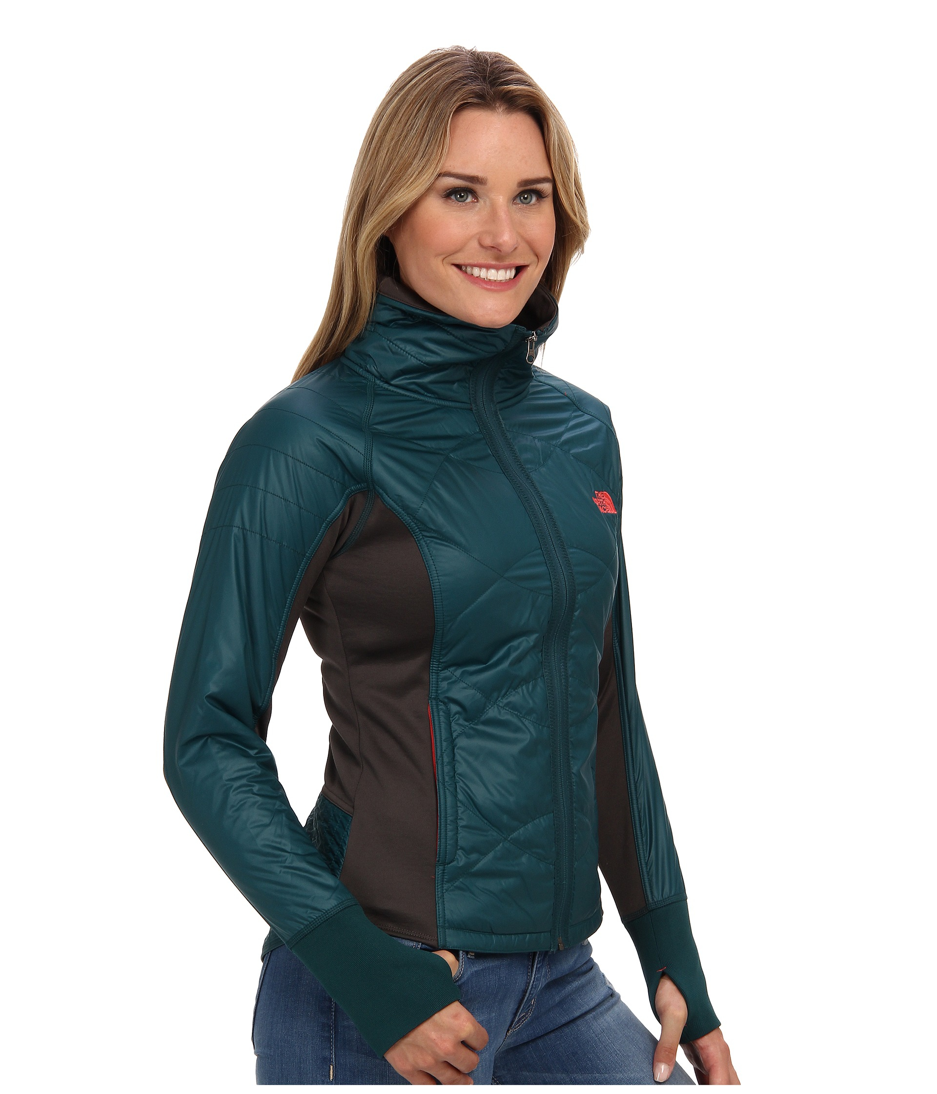 The North Face Vidali Hybrid Jacket In Green Lyst