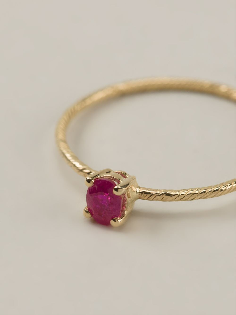 Ruby ring - Red Wouters & Hendrix TTMT8CF
