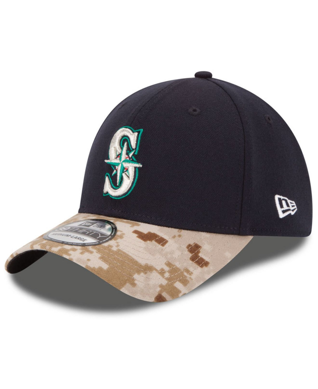 b959f7112a0ce ... new era black 2018 memorial day 39thirty flex hat 0c1e5 cbeee  reduced  lyst ktz seattle mariners memorial day 39thirty cap in blue for men bb3c5  1c1c3