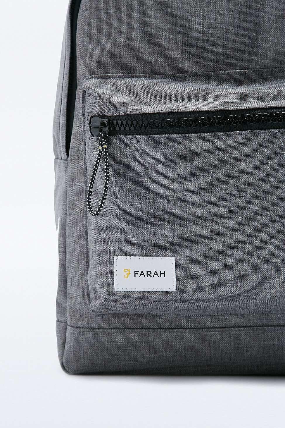Farah Corwin Marl Backpack in Gray for Men