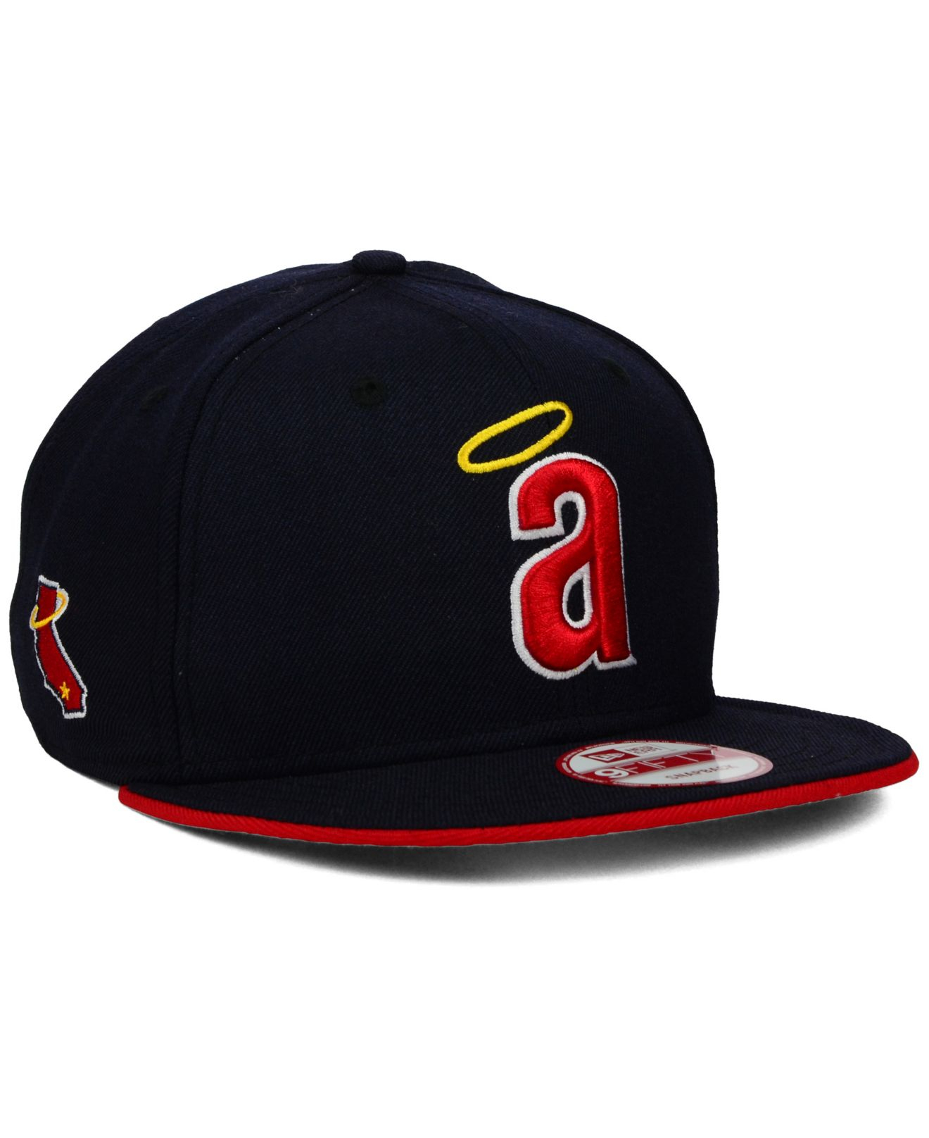 pretty nice 0f4e5 89e00 Lyst - KTZ Los Angeles Angels Of Anaheim Coop Flip 9fifty Snapback ...