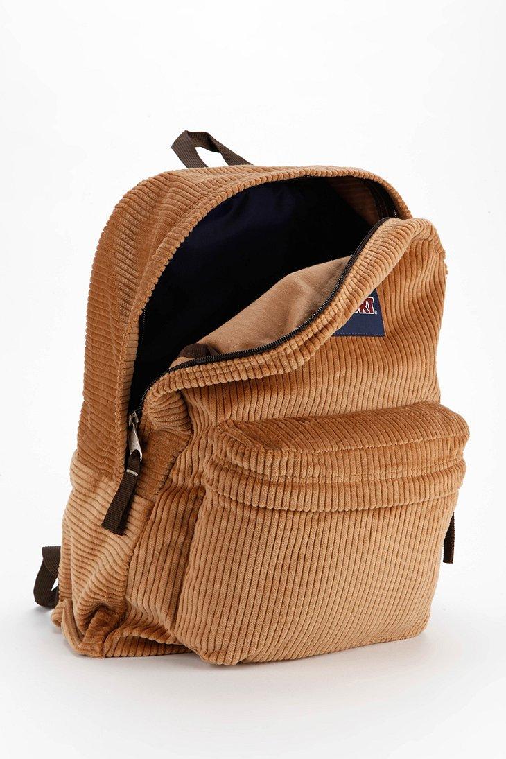 Jansport High Steaks Corduroy Backpack in Brown | Lyst