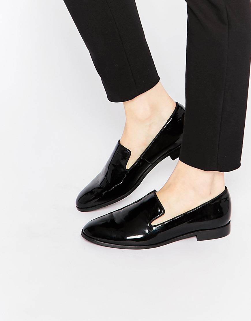 Womens Black Corporate Shoes
