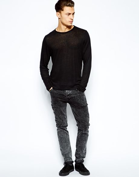 Black Mens Casual Fashion