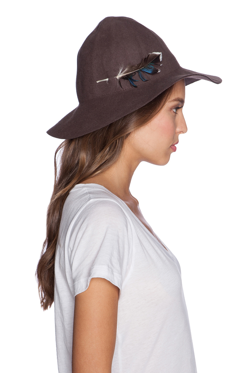 9194d506e4dac Brixton Jethro Hat in Brown - Lyst