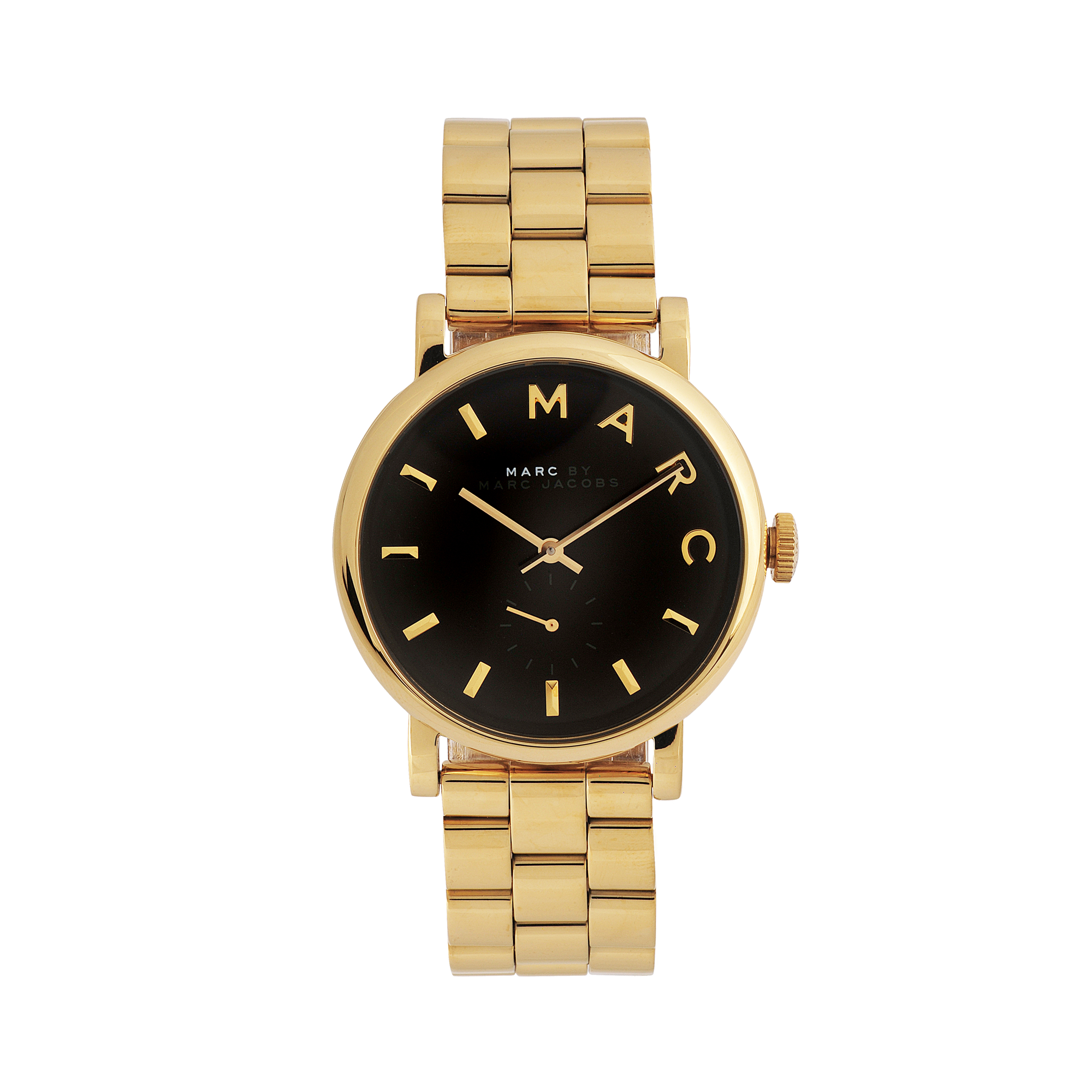 Marc By Jacobs Laukku : Marc by jacobs baker mbm watch in metallic lyst