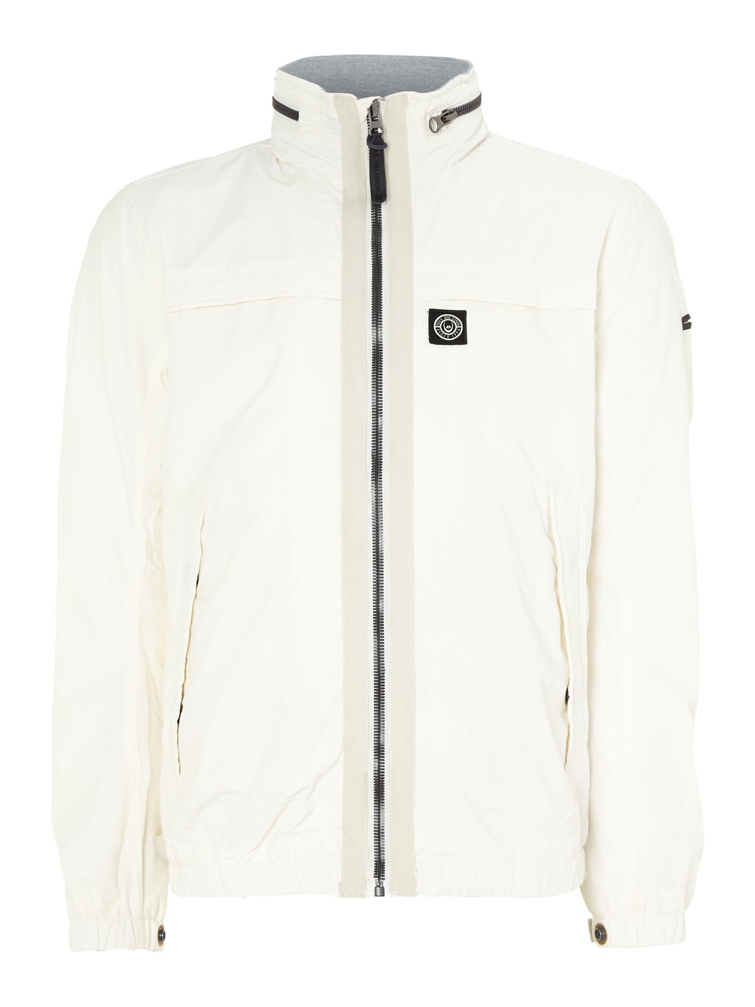 Duck and cover Orsonv3 Hooded Lightweight Jacket in White for Men ...