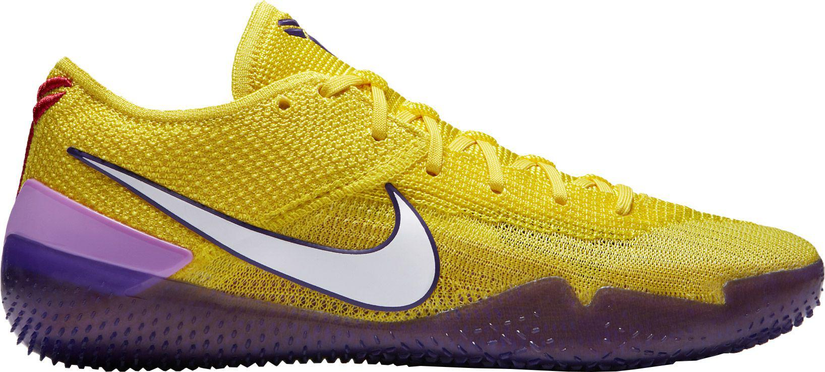 ebb71ef7dcce Nike Kobe A.d. Nxt 360 Basketball Shoes in Yellow for Men - Lyst