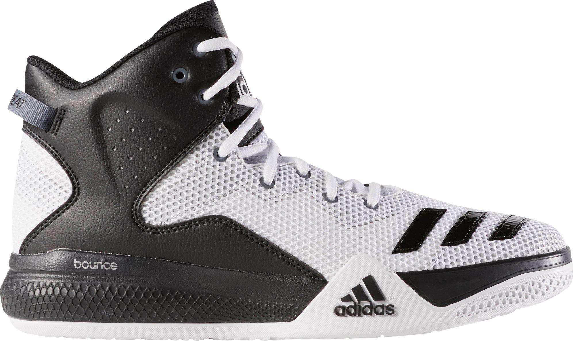 a8acc9db783d7f Lyst - adidas Originals Dual Threat Basketball Shoes in White for Men
