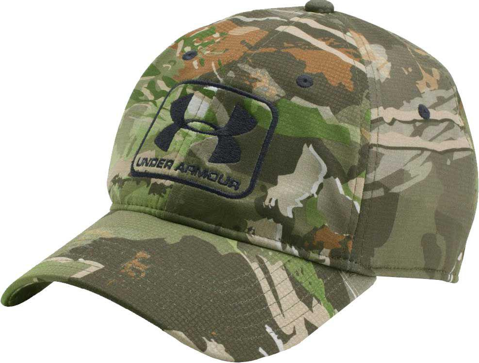 c16761e0673 Lyst - Under Armour Stretch Fit Hunting Hat in Green for Men