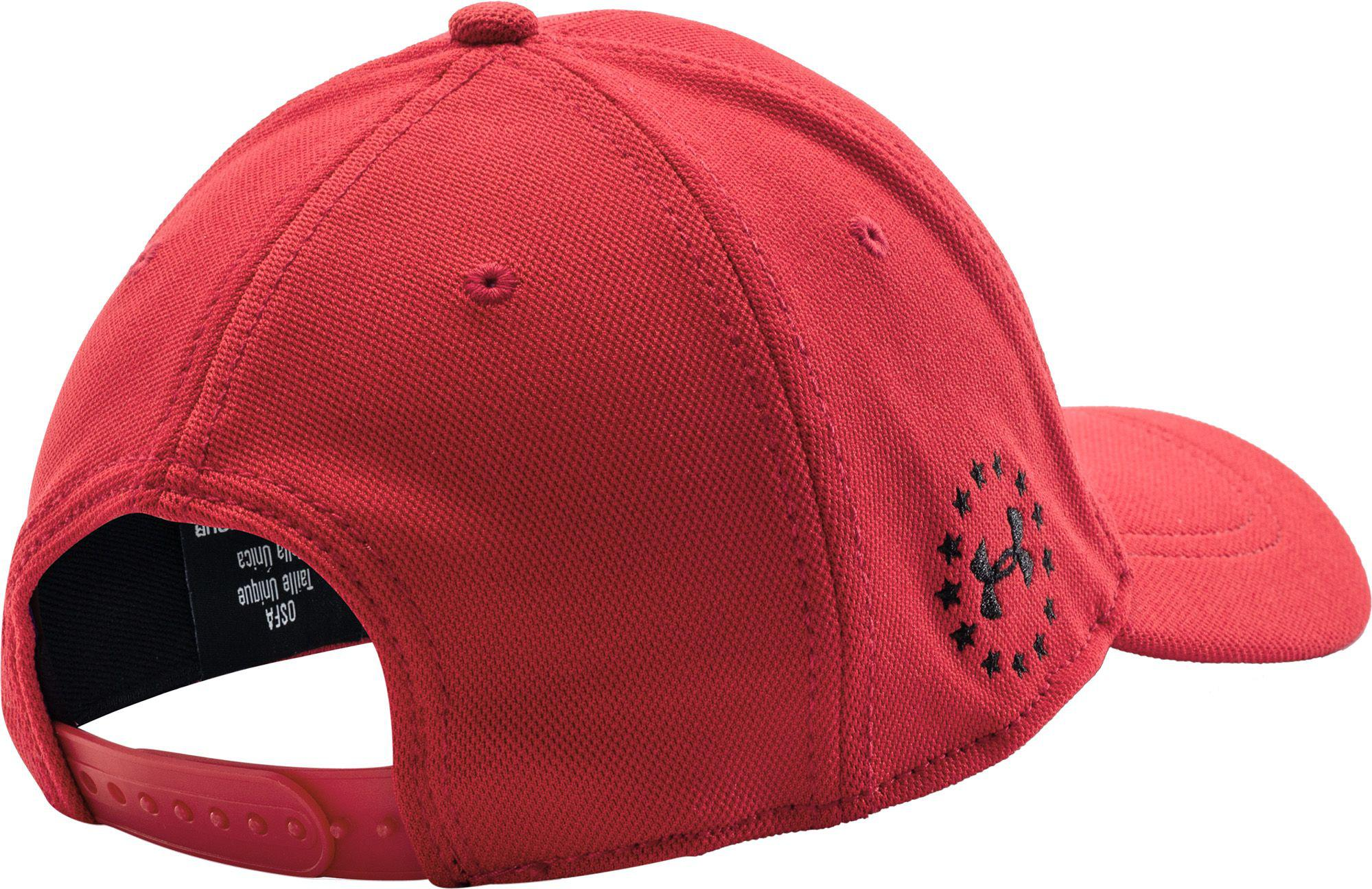 Lyst - Under Armour Wounded Warrior Project Snapback Hat in Red for Men 2b40dad91ef