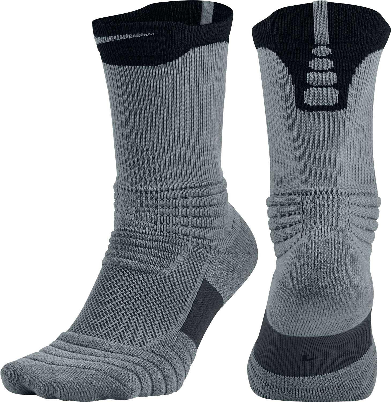 Lyst - Nike Elite Versatility Crew Basketball Socks in Black for Men 90611f0b6e55