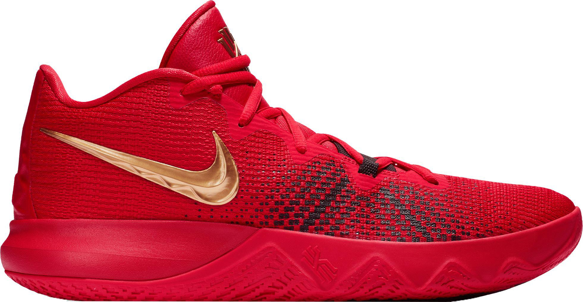 8fccc381ae9 Nike Kyrie Flytrap Basketball Shoes in Red for Men - Lyst