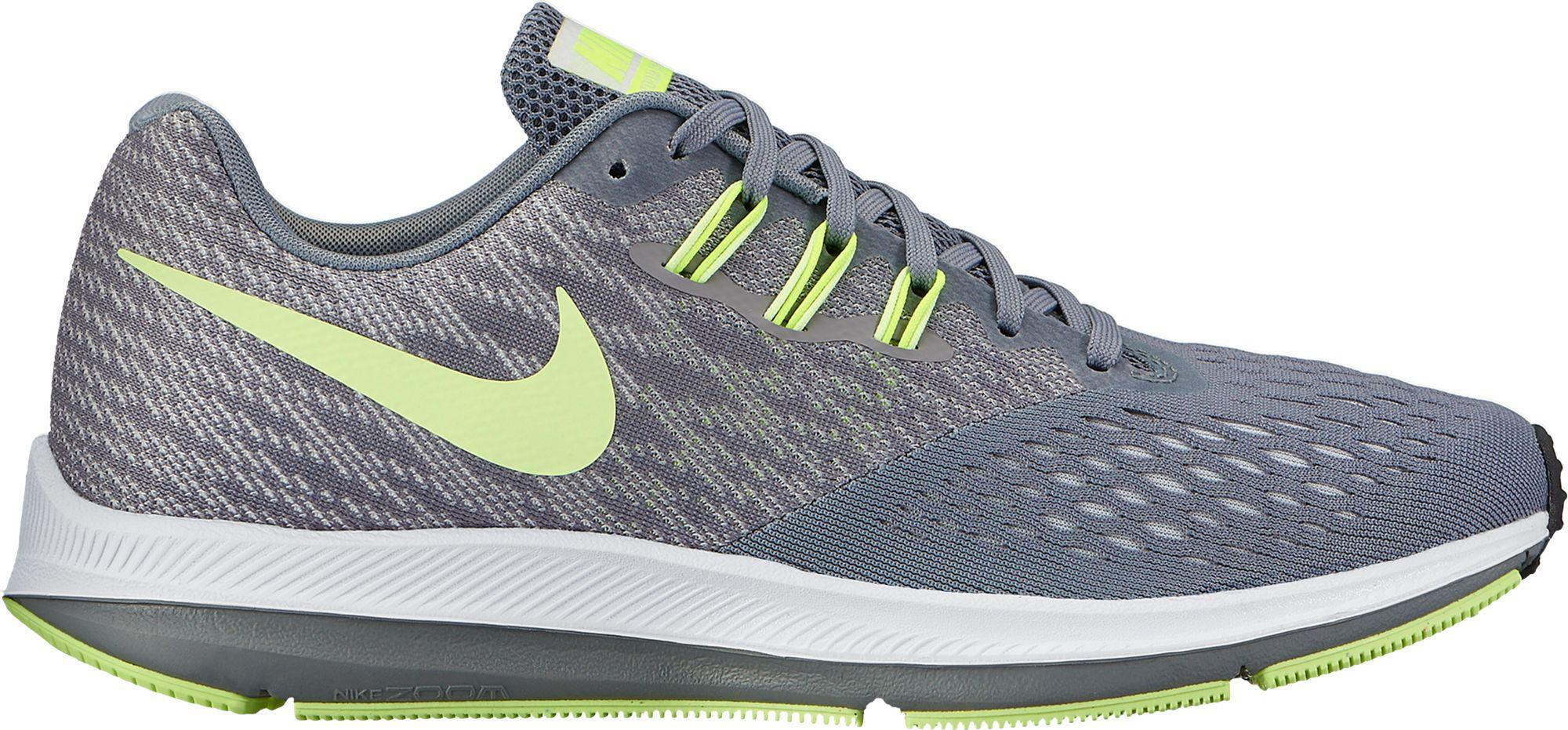 99f6ac8c231 Lyst - Nike Air Zoom Winflo 4 Running Shoes in Gray for Men