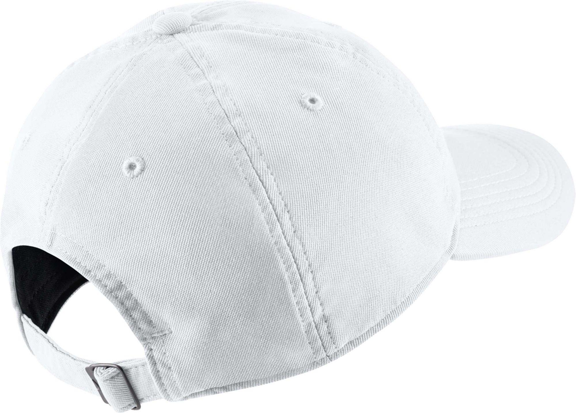 0692a5d0a8368 Nike - White Twill H86 Adjustable Hat for Men - Lyst. View fullscreen