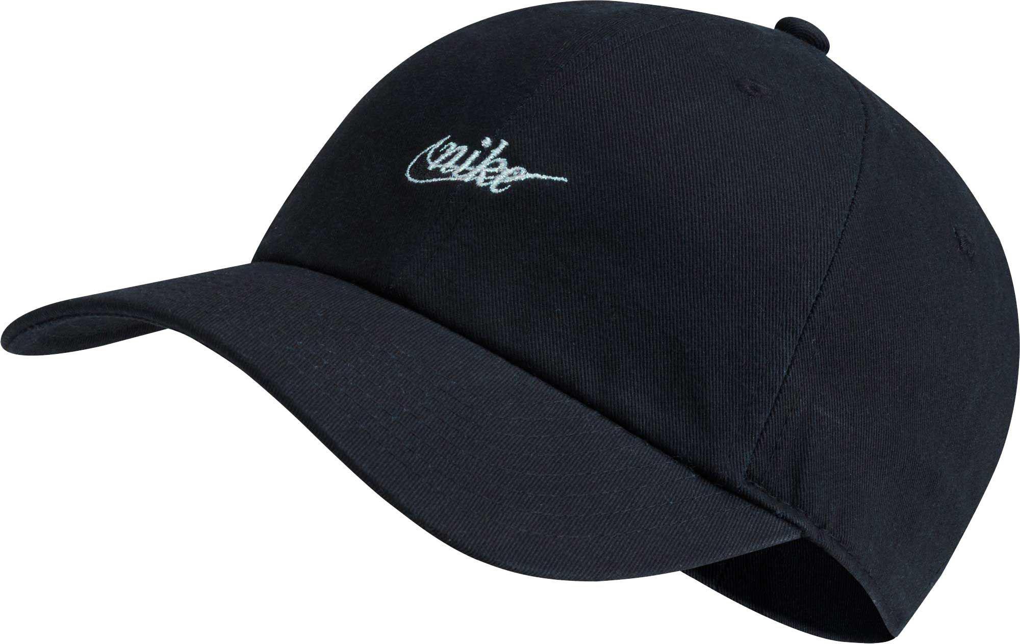 huge discount 3b10a 12df3 Nike Sportswear Script H86 Hat in Black - Lyst