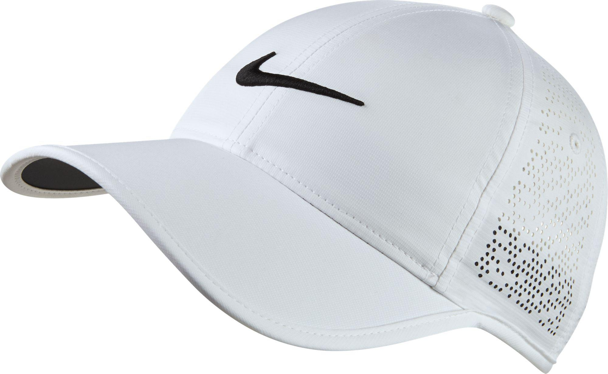 Lyst - Nike Perforated Golf Hat in White 676f650d4375
