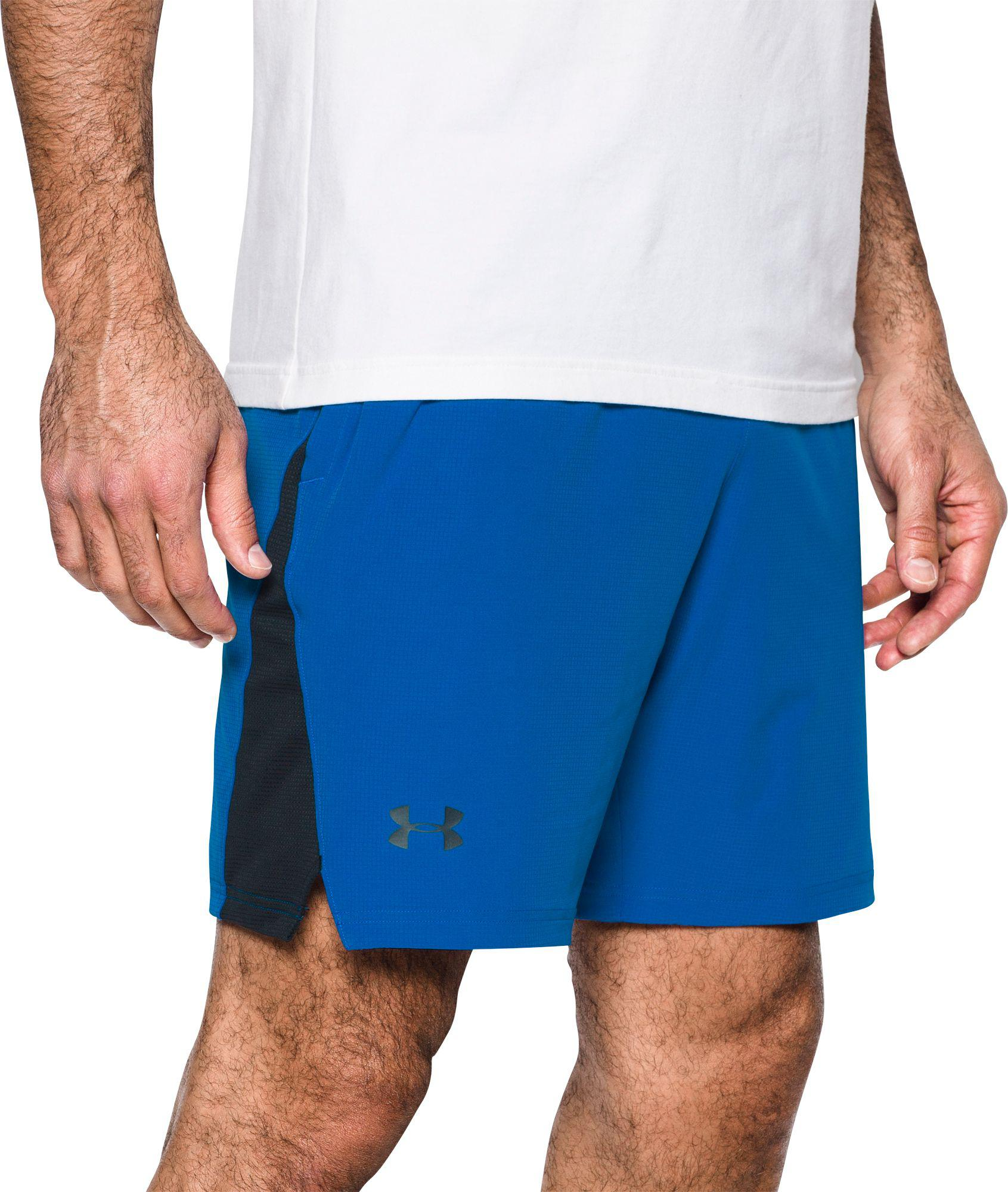 91de7856de28 Lyst - Under Armour Cage Shorts in Blue for Men