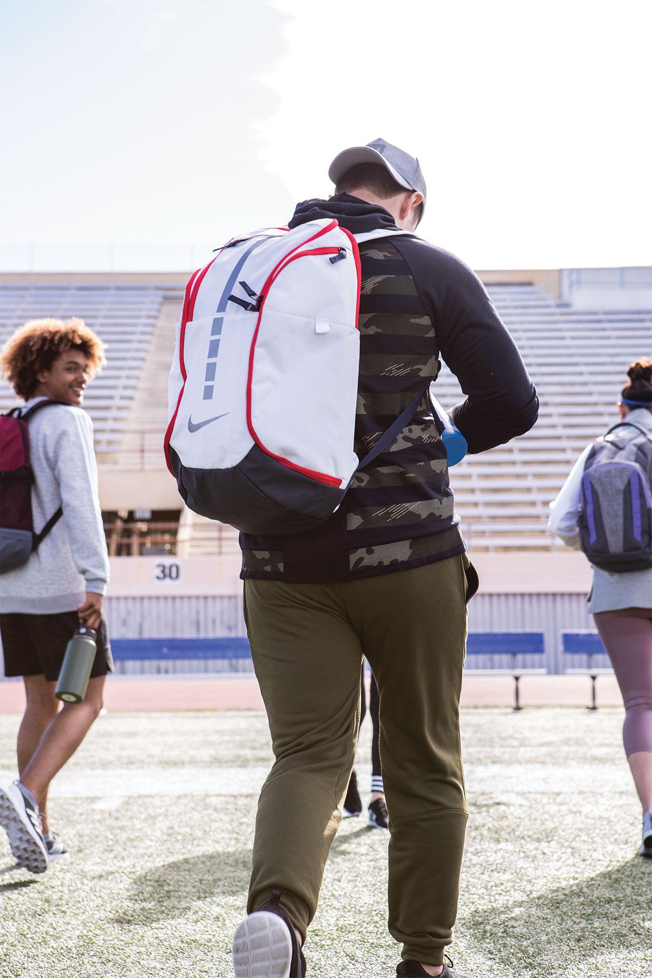 9f7e83184 Nike - Red Hoops Elite Pro Basketball Backpack for Men - Lyst. View  fullscreen