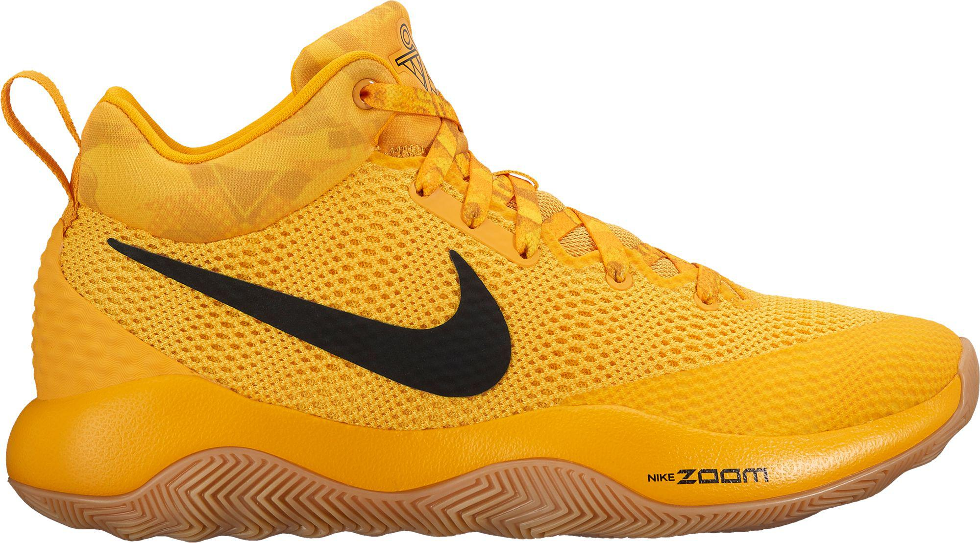e827fdc4736c Nike Zoom Rev 2017 Basketball Shoes in Yellow for Men - Lyst