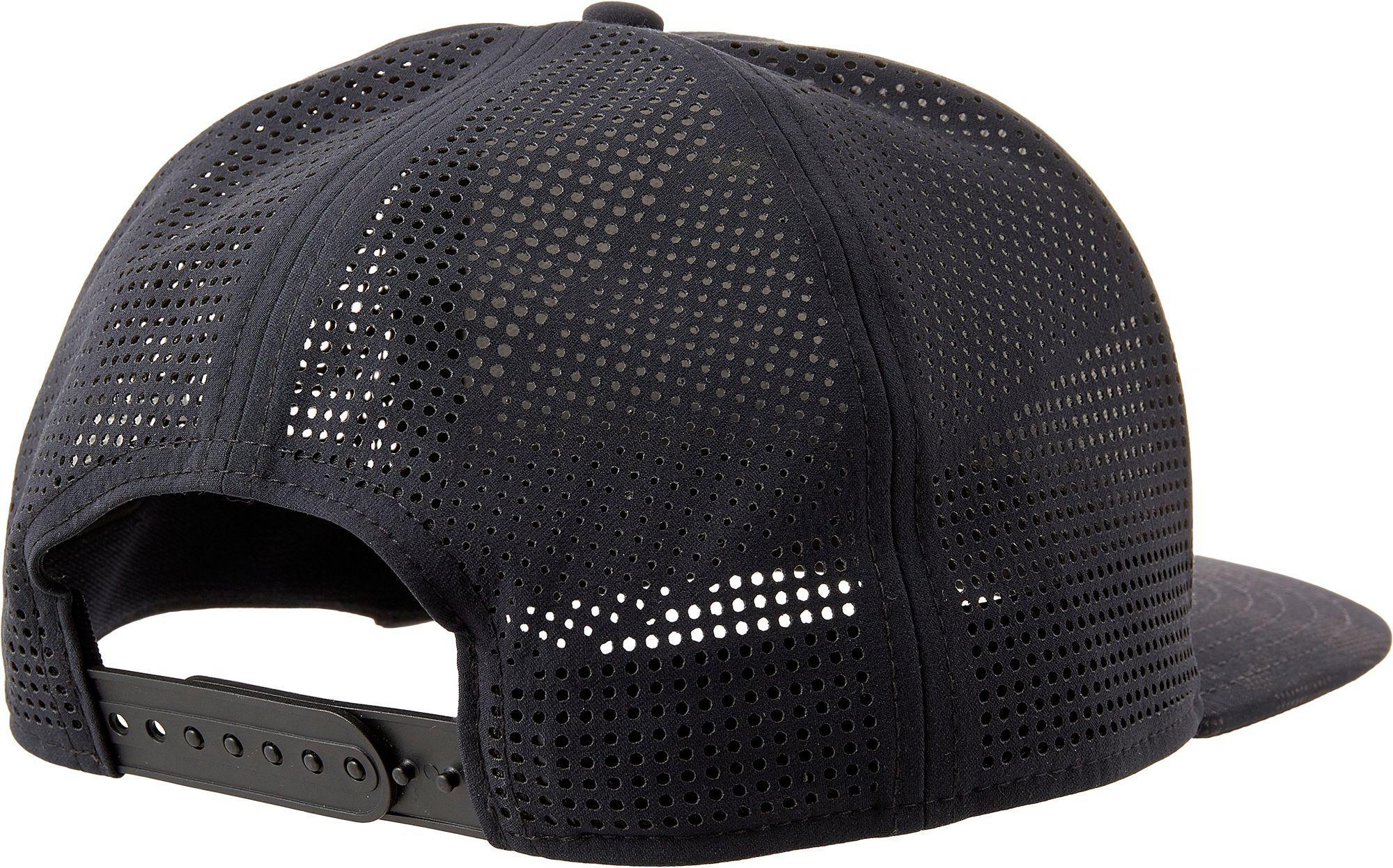 Lyst - Under Armour Project Rock Supervent Snapback Hat in Black for Men 7f474d36d4d