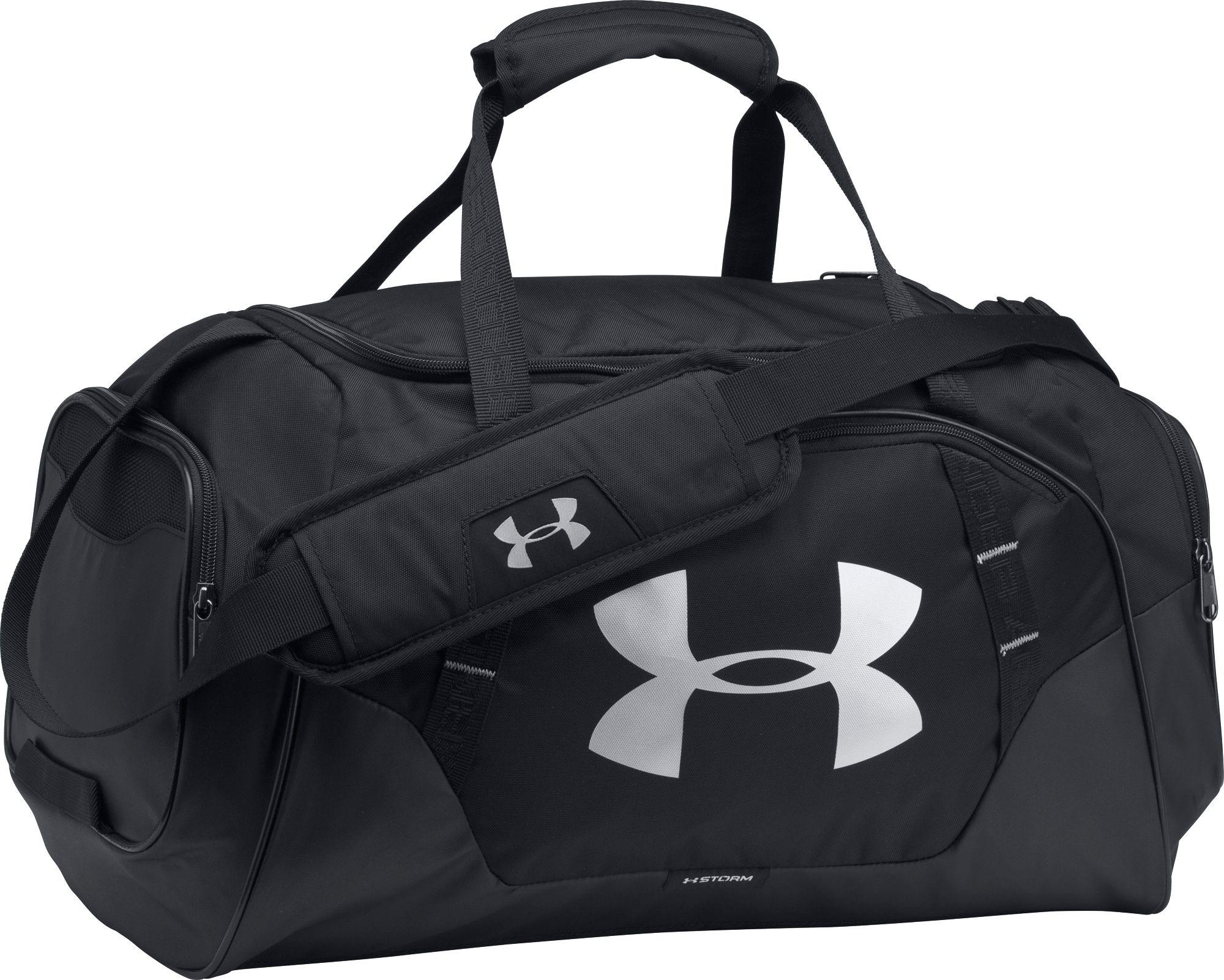 Lyst - Under Armour Undeniable 3.0 Small Duffle Bag in Black for Men b9049ce07376d