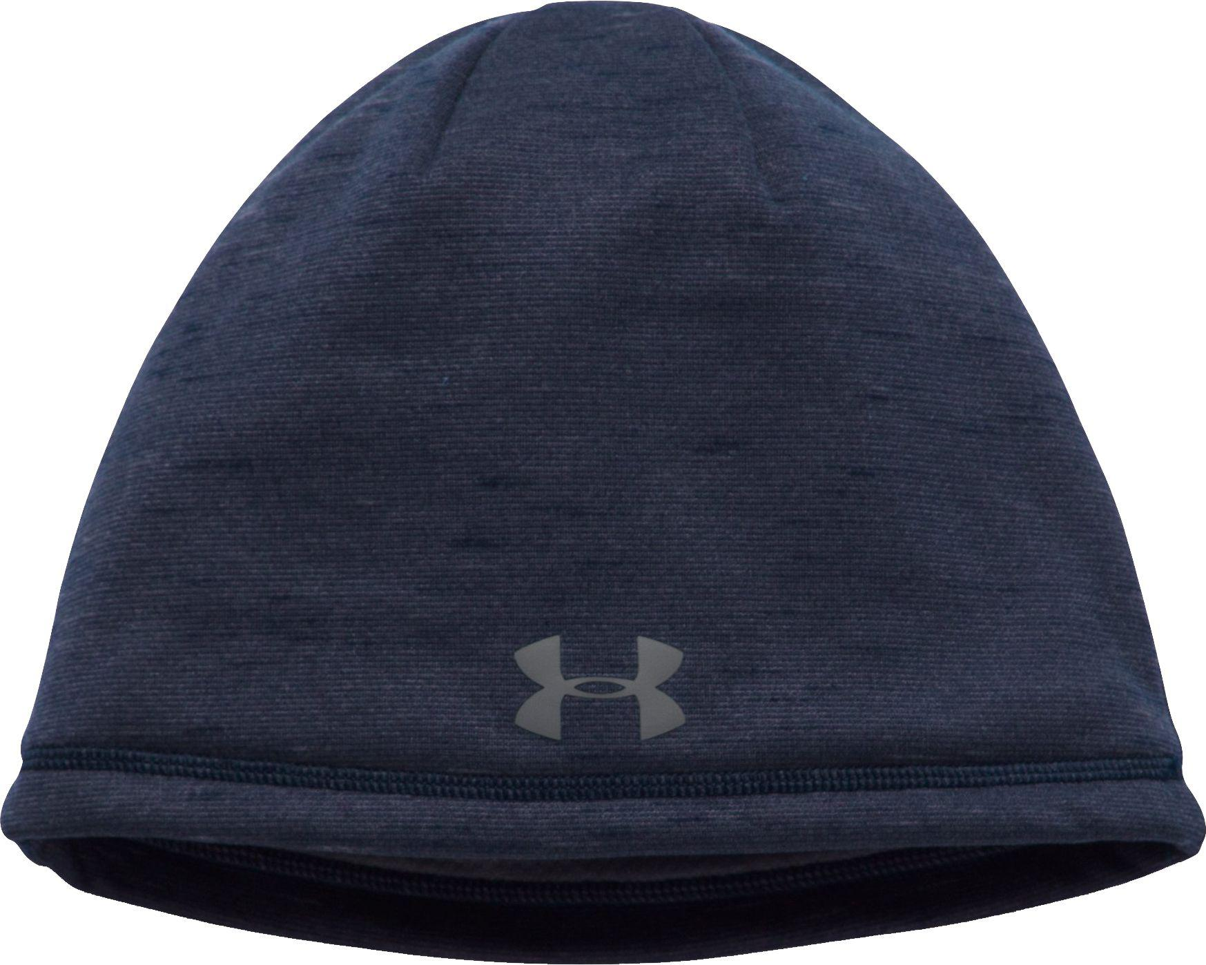 997e52b7f1d Lyst - Under Armour Coldgear Reactor Elements Beanie in Blue for Men